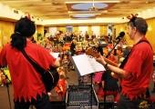 Hudební vystoupení na Mikulášské besídce