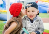 Dětská láska v dětském koutku :-)