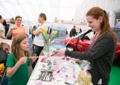 Děti v akci na veletrhu Interbeauty