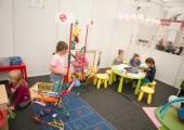 Mobilní dětský koutek Rossmánek na veletrhu