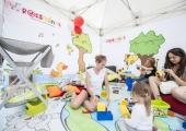 Dětský koutek Rossmánek  na akci pro rodiny