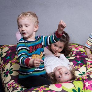 Mobilní dětský koutek na festivalu UNITED ISLANDS