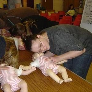 Kurz první pomoci u miminek a dětí do tří let