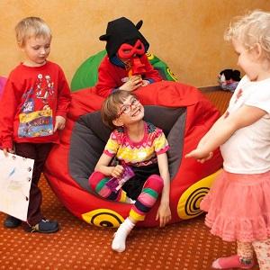 Dětský koutek ROSSMÁNEK na akci Interbeauty Prague