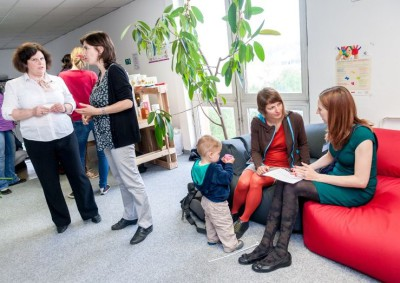 Den otevřených dveří v Baby Office