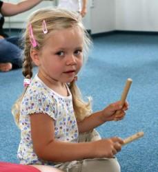 Hudební škola Yamaha - nové kurzy od února pro děti od 1,5 - 4 let