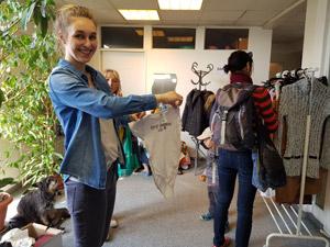 Podzimní výměnný bazar oblečení a hraček
