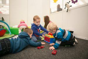 Dětský koutek na veletrzích Cesty dřeva, For Pasiv a Střechy Praha