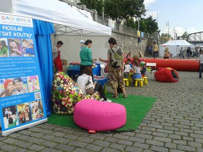 Dětský koutek Toypex na Ratolest festu 2019