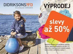Výprodej oblečení Didriksons1913 CZ & SK