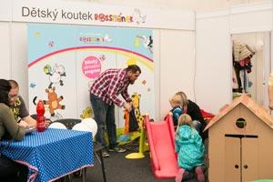Dětský koutek Rossmánek na akci FESTIVAL EVOLUTION