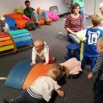Hlídání dětí na veletrhu For Arch