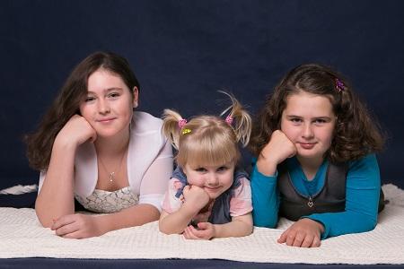 Vánoční rodinné focení s Foto by Vera