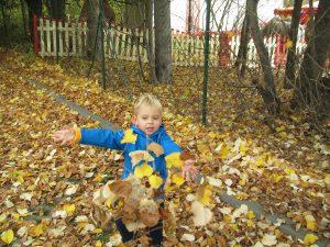 Miniškolka - hraní venku