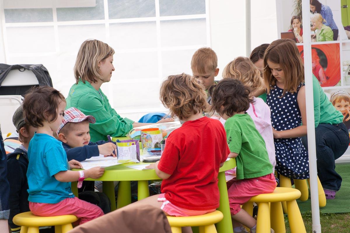 Hlídání dětí na akci