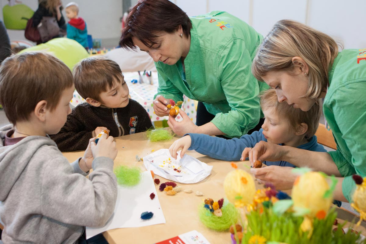 Brigáda tvoření s dětmi