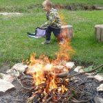 Radovánky u ohně