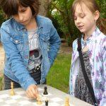 Strašidelná oslava - šachy
