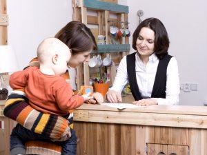 Recepce Baby Office v Praze na Kačerově