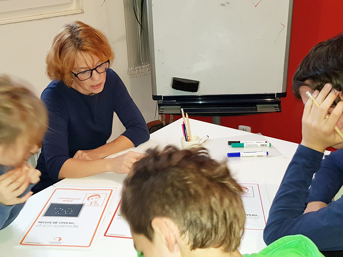 Práce s dětmi 8-10 let Feuersteinova metoda