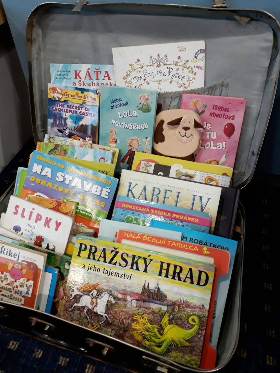 Dětský koutek - čtenářská dílna