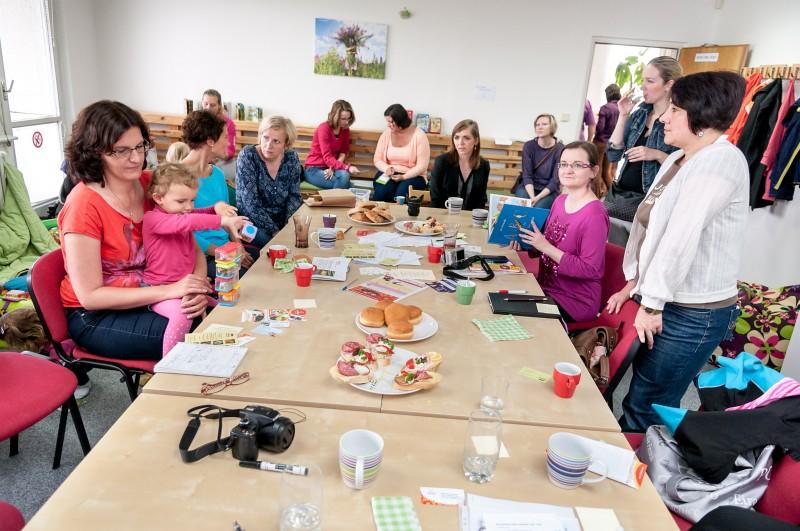 Inspirativní setkání na téma práce a děti