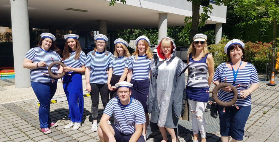 Dětský den - námořníci