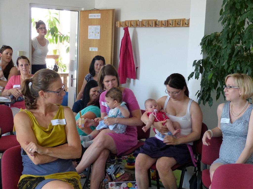 Akce pro rodiče na mateřské dovolené