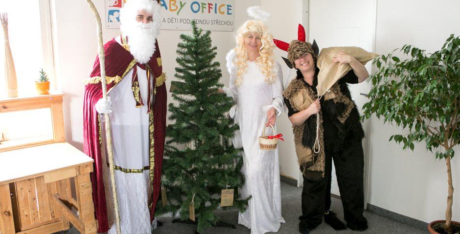 Mikulášská družina Baby Office