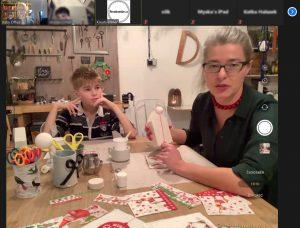 On-line tvoření s dětmi