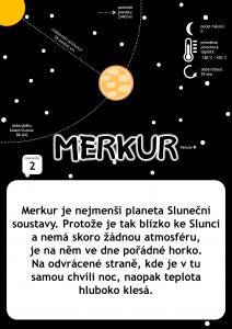Vesmírné putování - tematická stezka