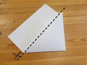 Výroba vánoční hvězdy - krok 2