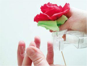 Růže z papíru - postup - 11