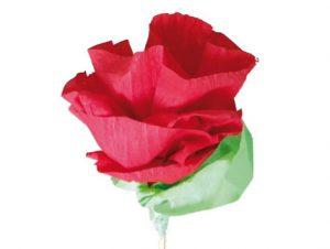 Růže z papíru - postup - 12