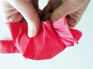 Růže z papíru - postup - 3