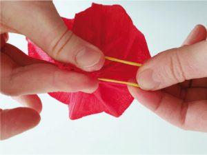 Růže z papíru - postup - 7