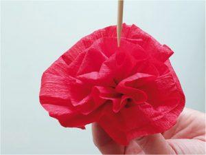 Růže z papíru - postup - 8