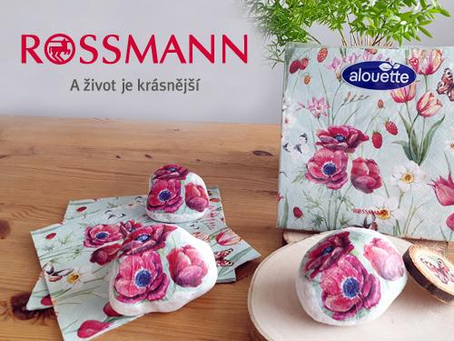 Vítáme jaro: dětský koutek Rossmánek - on-line tvoření