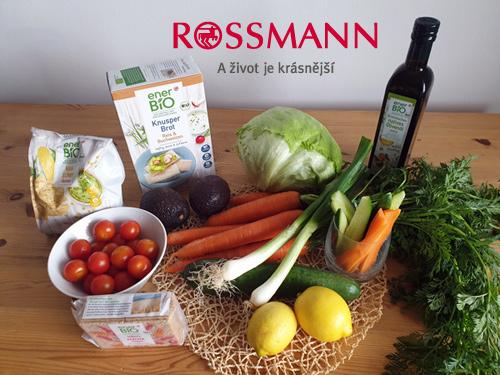 Zdravá kuchyně: dětský koutek Rossmánek - on-line vaření
