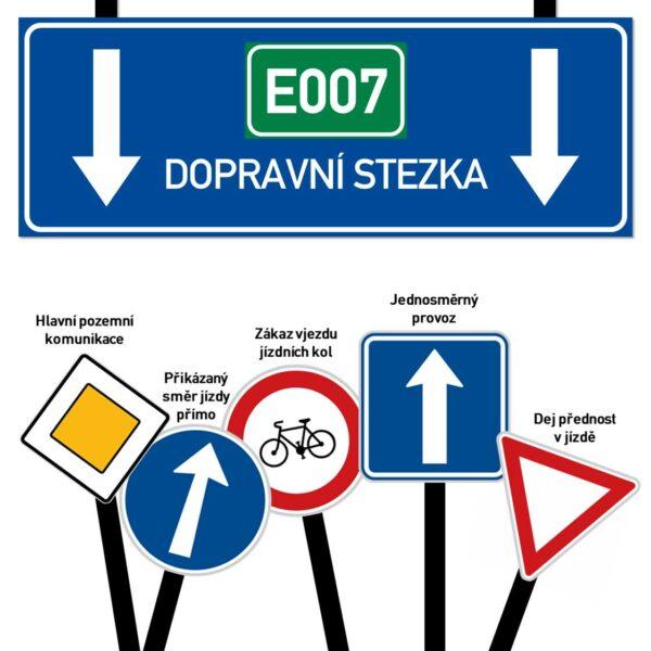 E007 dopravní stezka
