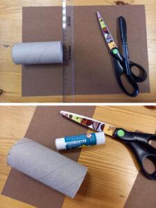 Tvoření s dětmi - zajíček - rulička