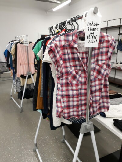 SWAP - výměnný bazar oblečení