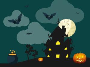 Halloween - očarovaný dům
